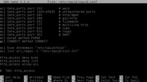acl pada squid debian server